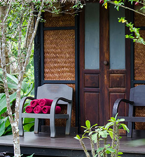 Indulge in a massage or the herbal steam bath - Hillside Lodge and resort Laos