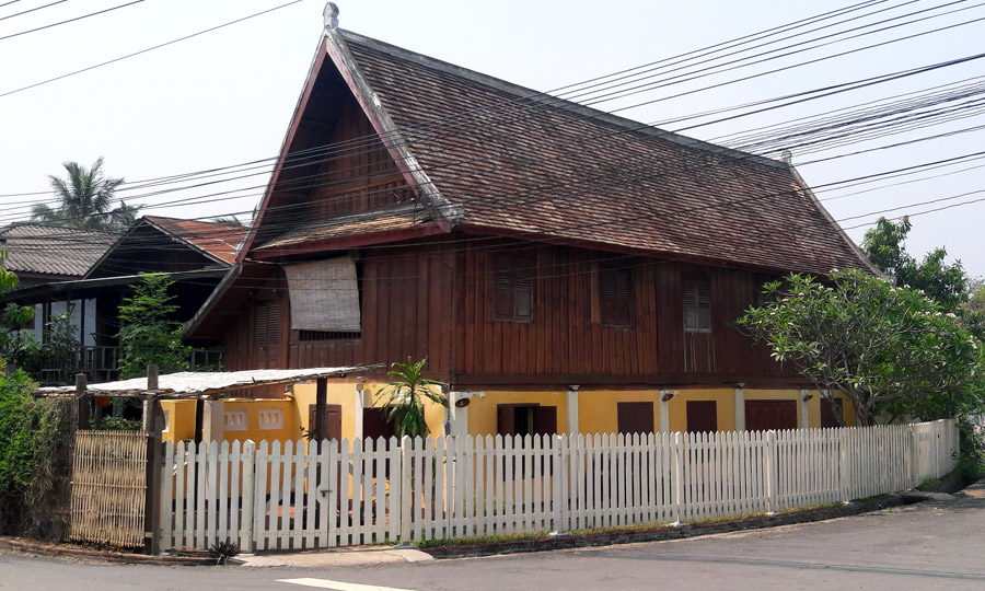 The House from Outside - The City Residence in town of Luang Prabang - Laos